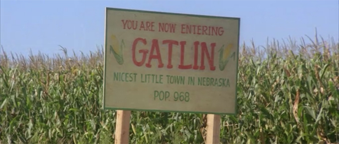 gatlin children corn nebraska little town nicest now entering