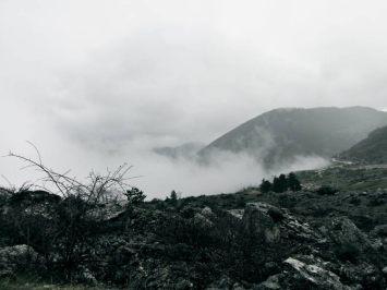 Fog near Frattura